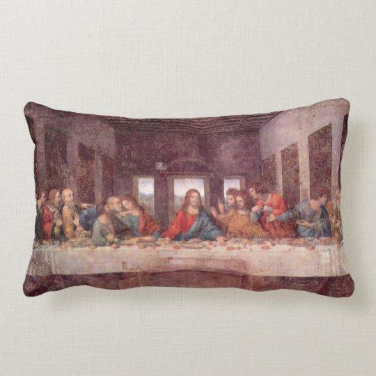 The Last Supper by Leonardo da Vinci, Renaissance Lumbar Pillow