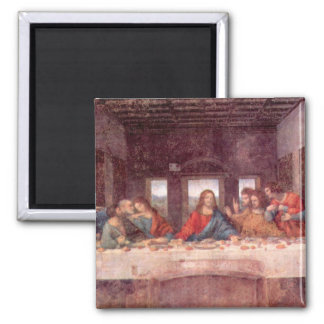 The Last Supper by Leonardo da Vinci, Renaissance Fridge Magnet
