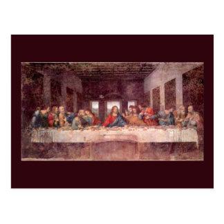 The Last Supper by Leonardo da Vinci, Renaissance Postcard