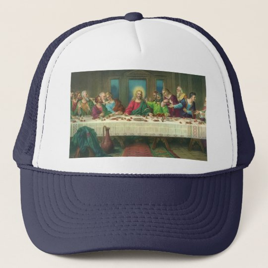 The Last Supper by Leonardo da Vinci Trucker Hat