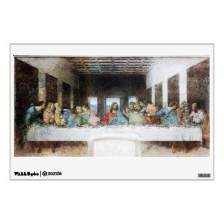 The Last Supper by Leonardo Da Vinci Wall Decal