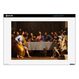 """The Last Supper by Philippe de Champaigne (1648) Decals For 15"""" Laptops"""