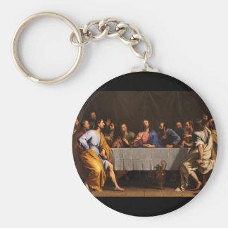 The Last Supper by Philippe de Champaigne (1648) Keychain