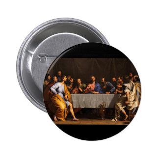 The Last Supper by Philippe de Champaigne (1648) Pinback Button