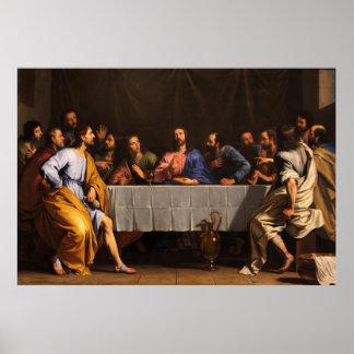 The Last Supper by Philippe de Champaigne (1648) Poster