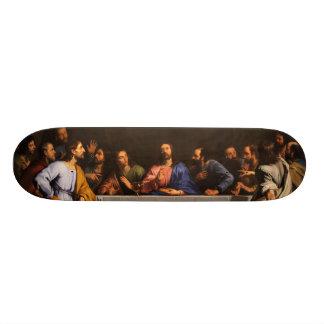 The Last Supper by Philippe de Champaigne (1648) Skateboard Deck
