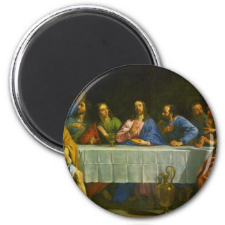 The Last Supper by Philippe de Champaigne 1654 2 Inch Round Magnet
