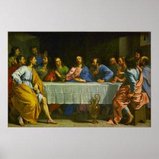 The Last Supper by Philippe de Champaigne 1654 Print