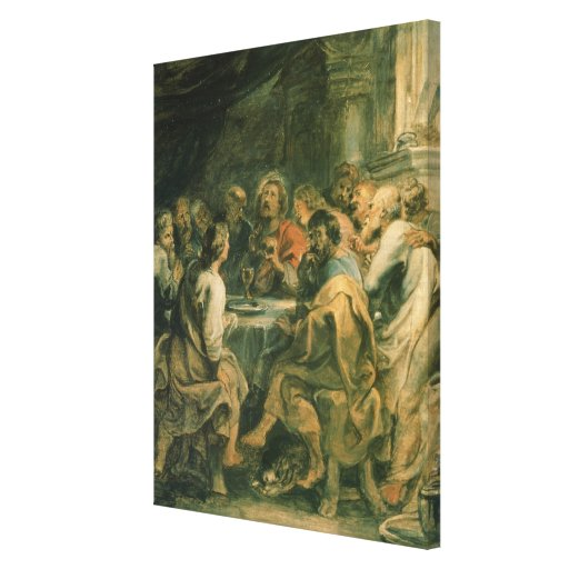 The Last Supper, c.1630-31 Gallery Wrap Canvas
