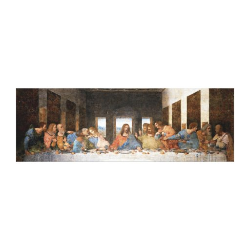 The Last Supper Canvas Prints