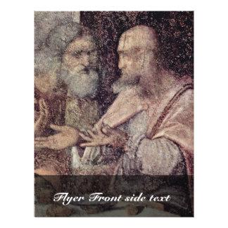 The Last Supper Detail By Leonardo Da Vinci (Best Full Color Flyer
