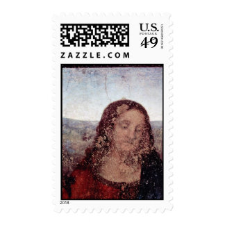 The Last Supper Detail By Leonardo Da Vinci Postage Stamp