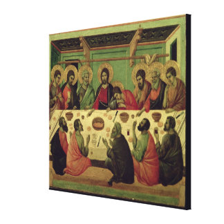 The Last Supper, from the Passion Altarpiece Canvas Print