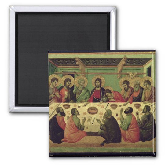 The Last Supper, from the Passion Altarpiece Magnet