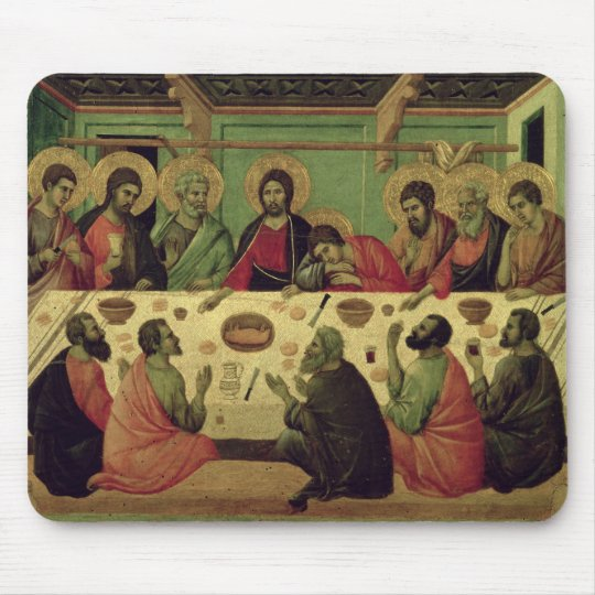 The Last Supper, from the Passion Altarpiece Mouse Pad