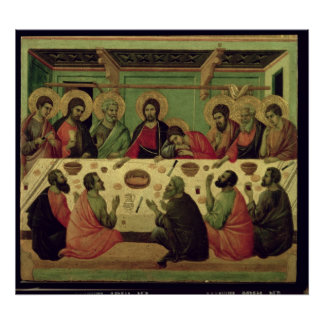 The Last Supper, from the Passion Altarpiece Poster