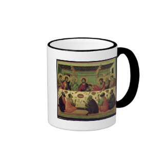 The Last Supper, from the Passion Altarpiece Ringer Mug