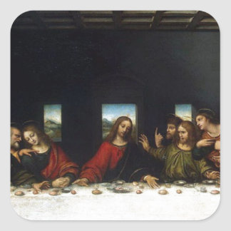 The last supper gifts sticker