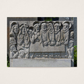 The Last Supper Gravestone Business Card