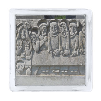 The Last Supper Gravestone Silver Finish Lapel Pin