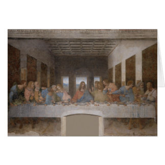 'The Last Supper' Greeting Card