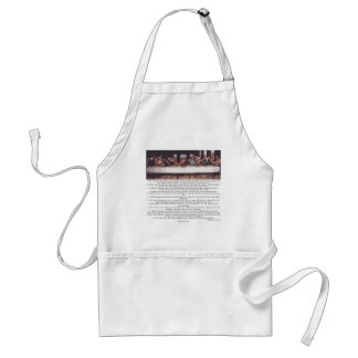 The Last Supper - Matthew 26:17-30 Adult Apron