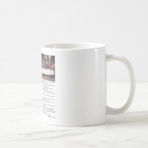 The Last Supper - Matthew 26:17-30 Mug