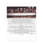 The Last Supper - Matthew 26:17-30 Post Card