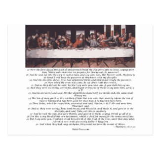 The Last Supper - Matthew 26:17-30 Postcard