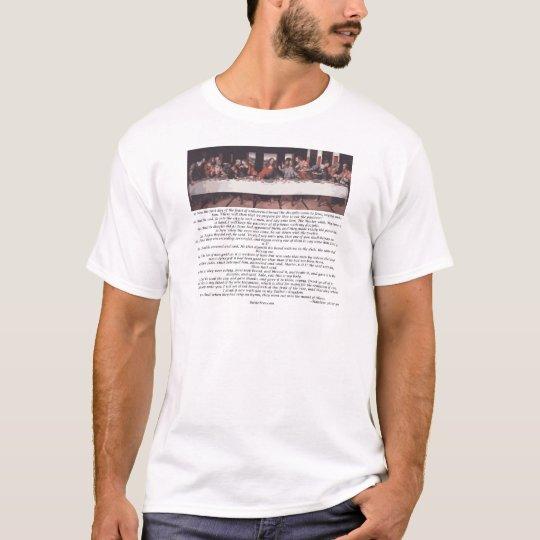 The Last Supper - Matthew 26:17-30 T-Shirt