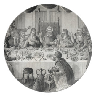 ''The Last Supper'' Melamine Plate