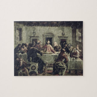 The Last Supper (oil on canvas) 2 Jigsaw Puzzles