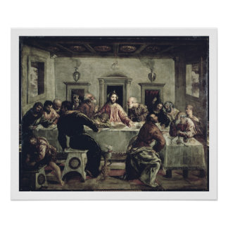 The Last Supper (oil on canvas) 2 Poster