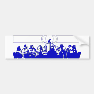 The Last Supper on Holy Thursday Bumper Sticker