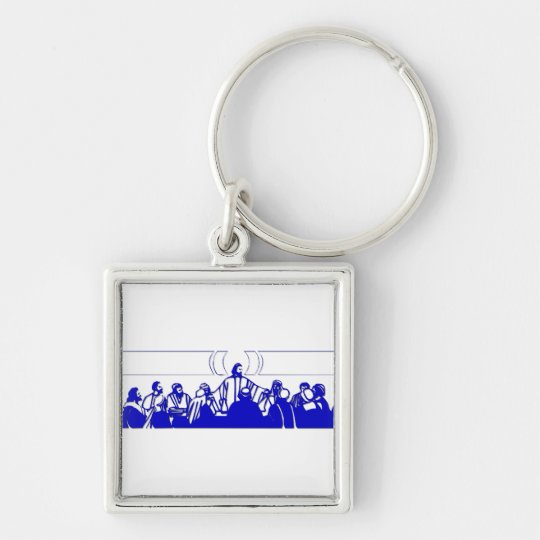 The Last Supper on Holy Thursday Keychain