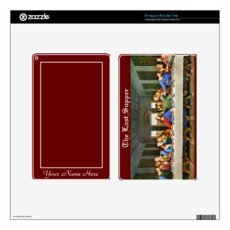 The Last Supper personalized Skins For Kindle Fire