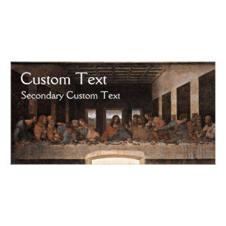 The Last Supper Personalized Photo Card