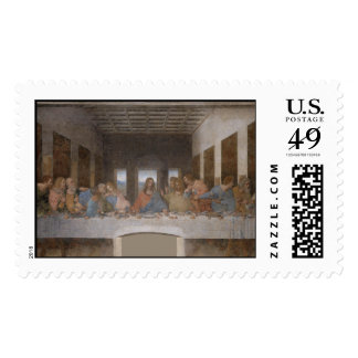 The Last Supper Postage Stamp