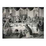 """""""The Last Supper"""" postcard"""