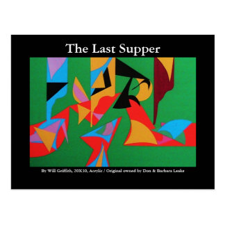 THE LAST SUPPER POSTCARD