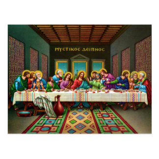 The Last Supper Postcards