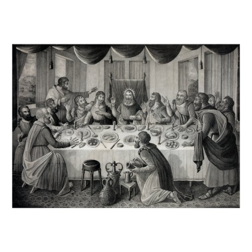 """The Last Supper"" poster/print Poster"