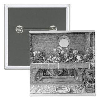 The Last Supper, pub. 1523 Pinback Button