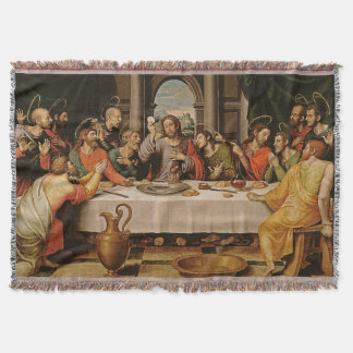 The Last Supper Tapestry Throw Blanket