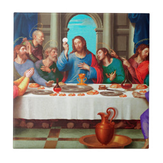 The last supper tile