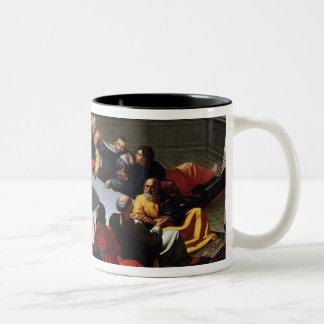 The Last Supper Two-Tone Coffee Mug