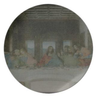 The Last Supper Vintage Dinner Plate