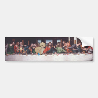 The Last Supper (with Acorns and Cupcakes) Bumper Sticker
