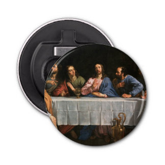 The Last Supper with Disciples Bottle Opener
