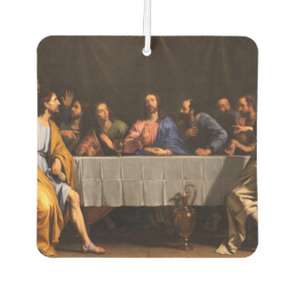 The Last Supper with Disciples Car Air Freshener